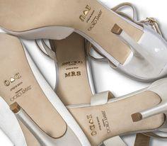 Les chaussures costumisées de la collection mariage 2015 de Jimmy Choo