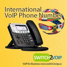 VoIP phone services are very popular, and very important for local businesses to stay present in different locations and various markets; almost like having a virtual branch that represents the main office in that particular city or country, without traveling or establishing an office over there.
