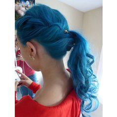 Bule hair