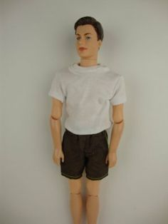 Ken 2pc Doll Clothing Casual Sport Shorts and White T-shirt Made to Fit the Ken Doll by Olivia's Doll Closet. $6.00. 2. Size: Great for 30 cm Barbie dolls & other 30 cm dolls. 3. Package includes: 1X barbie Clothes (Doll not included, only the Clothes). 4. A great gift for your children ,your friends and yourself .. Ken 2pc Doll Clothing Casual Sport Shorts and White T-shirt Made to Fit the Ken Doll. Ken 2pc Doll Clothing Casual Sport Shorts and White T-shirt Made to...