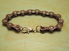 Bike Chain Bracelet with tutorial video, 12 Days of Reuse