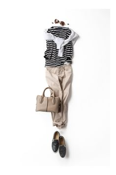 Casual, love the pants and shoes.