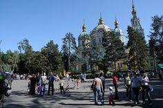 Zenkov Cathedral, Almaty May 2009 by Akitoshi Iio, via Flickr