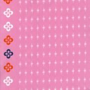 """Melody Miller Mustang - Stars (Pink)  Leap and the net will appear. Melody Miller's debut collection for Cotton + Steel  100% cotton, quilting weight, 44/45"""" wide"""