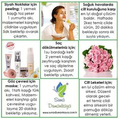 Natural recipes for suna Dumankaya skin care. to … – Beauty Care Ideas Beauty Care, Diy Beauty, Beauty Makeup, Beauty Hacks, Healthy Beauty, Health And Beauty, Weight Loss Eating Plan, Diy Hair Mask, Homemade Skin Care