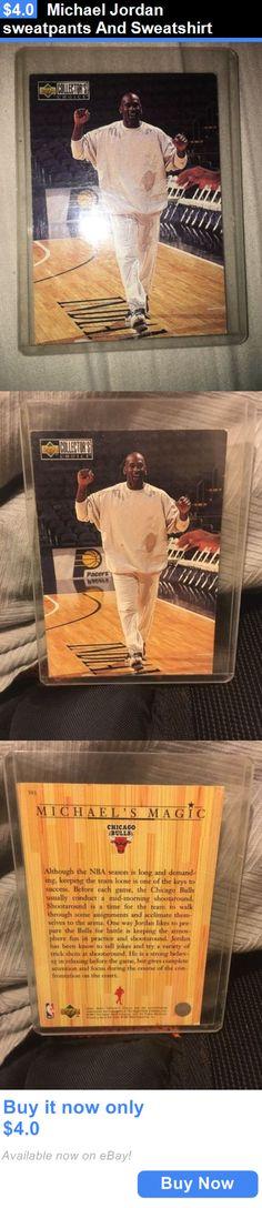 Michael Jordan Baby Clothing: Michael Jordan Sweatpants And Sweatshirt BUY IT NOW ONLY: $4.0