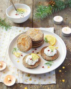 Blinis de sarrasin vegan et cheese cream pour 4 personnes - Recettes - Elle