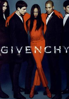 Joan Smalls Givenchy 2010 ad campaign. #fashion #model #ad