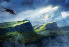 Beautiful Nature Mountains Wallpaper