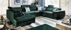 Moderná sedacia súprava ako je ROSSO? Správna voľba! Sedačku je možné obliecť do rôznych látok alebo ich kombinácie a vždy bude vyzerať nádherne. Možné objednať v tvare U ale aj v rohovej verzii či ako samostatnú dvoj alebo trojpohovku. Sofas, Couch, Board, Furniture, Home Decor, Couches, Settee, Decoration Home, Canapes