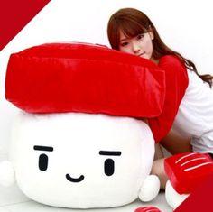 bedding TUNA Sushi Cushion hit gift pillow Brand new.