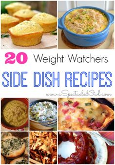 20 Weight Watchers Side Dish Recipes Crockpot Baked Beans by Friends For Weight Loss – 4 PointsPlus Zucchini Tots by Skinny Taste - 3 PointsPlus Weight Watchers Sides, Weight Watchers Lunches, Weight Watchers Meal Plans, Weight Watchers Soup, Weight Watcher Dinners, Ww Recipes, Side Dish Recipes, Healthy Recipes, Recipies