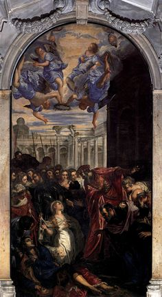 Madonna dell'Orto   Jacopo Tintoretto The Miracle of St Agnes