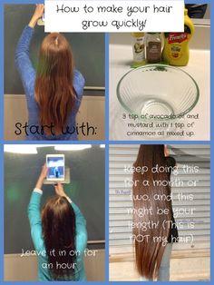 Hair growth recipe