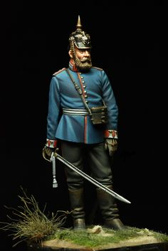 8th Foot Guard Hauptman - Franco-Prussian War - 1870-1871