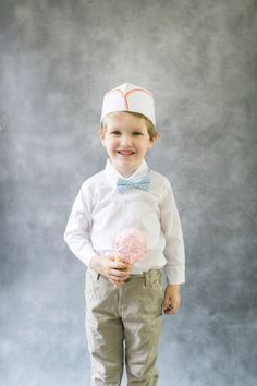Creamery Crew,Ice Cream Wrangler, Purveyor of Scrumptious Cones. Whatever you want to call it; this DIY costume is cuuuuuute. Plus those faux cones will make for adorable decorations later on. It's simple really. With spackle, styrofoam, a little paint and