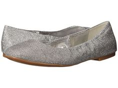 Nine West Girlsnite Silver Fabric - Zappos.com Free Shipping BOTH Ways