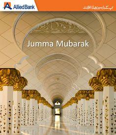 #Jumma Mubarak. Have a blessed day!