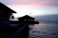 A resort at Maldives