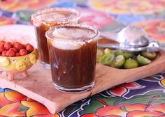 A michelada is like Bloody Mary's cool Mexican cousin – only instead of vodka, it is made with beer. Michelada (Mexican-Style Beer Cocktail) by Lola's Cocina