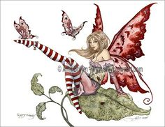 'Flirty Fairy' <BR>by Amy Brown. '                                                                                                                                                      More