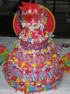 Candy cake!!