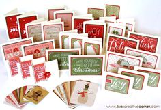 Lisa's Creative Corner: November Creative Club - PML Christmas Card Kit