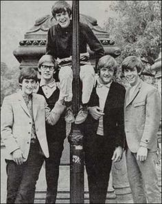 """Peter Noone and Herman's Hermits' first big hit was """"I'm Into Something Good"""" in 1964."""