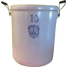 UHL Pottery Co Acorn Wares 10 Gallon Crock with Handles