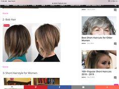 Medium Hairstyles, Short Hairstyles For Women, Hairstyles With Bangs, Bangs With Medium Hair, Short Hair Cuts, Short Hair Styles, Popular Short Haircuts, Haircut For Older Women, Wedding