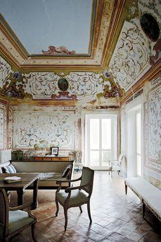 Cy Twombly's home in Gaeta, Italy. Photo: Simon Watson.