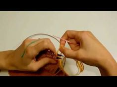 COSTURA INVISIBLE para PUNTO BOBO // Grafting Garter Stitch - YouTube