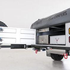 Black Series Camper Trailer Off Road Camper Trailer, Camper Trailers, Tiny Trailers, Black Series, Camper, Campers, Caravan