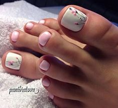 How to Get Your Feet Ready for Summer - 50 Adorable Toe Nail Designs 2019 - . How to Get Your Feet Ready for Summer - 50 Adorable Toe Nail Designs Swoon-Worthy Hairdos for Long Hair - Long Haircut - Pretty Toe Nails, Cute Toe Nails, Toe Nail Art, Beach Toe Nails, Flower Toe Nails, Acrylic Toe Nails, Simple Toe Nails, Pretty Pedicures, Pretty Toes