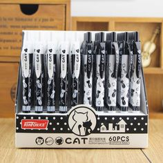 Cute Kawaii Cartoon Cat Ballpoint Pen Animal Ball Point Pens for Writing Stationery School Office Supplies Free shipping 428 #>=#>=#>=#>=#> Click on the pin to check out discount price, color, size, shipping, etc. Save and like it!