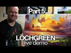 Live Oil Painting Tutorial: Lochgreen Part 4 - YouTube
