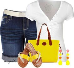 Adorable summer type casual wear