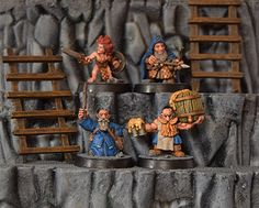 It's time to feature another competitor in the Cleric, Fighter, Wizard, Rogue Miniature Painting Tourney. Today's Ensemble Shot is submitted by  Year 1 Champs and Year 2 Finalists, Ral Partha Europe! You can find them here: http://www.ralparthaeurope.co.uk/ Make sure you vote during AetherCon all weekend long to have your say on who is the best. The more you vote, the more chances you have to win!