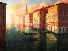 Grand Canal at Sunset - Chris Clark