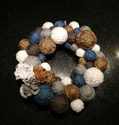 My DIY Winter Wreath