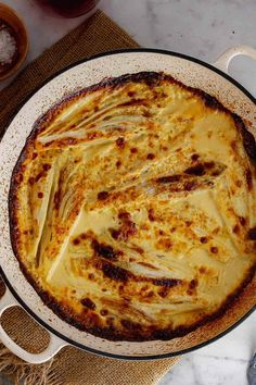 This braised chicory gratin is bathed in garlic spiked cream with a hint of dijon mustard and plenty of gruyère cheese. It's delicious served with a simple salad and some crusty bread. #thecookreport #braisedchicory #gratin #chicory Cheese Recipes, Gourmet Recipes, Crockpot Recipes, Winter Dinner Recipes, Easy Dinner Recipes, Steak Side Dishes, Recipe Filing, Easy Food To Make, Gratin