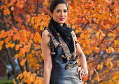 My City, My Style: Our Afternoon With Designer Azeeza Khan - love the pattern & color.