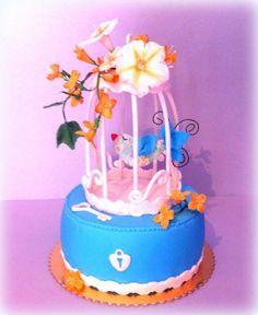 Cake birdcage - Cake by nesicake