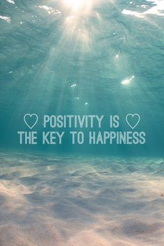 Nothing but positive