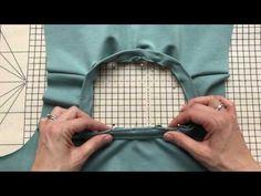 Laurens top tips - Inserting Jersey neckbands - YouTube