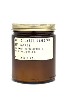 P.F Candle Co has the sweetest scents perfect for gifts.