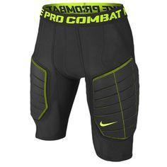 Nike Pro Combat Hyperstrong Elite Mens Compression Basketball Shorts  (X-Large, Black/Volt): Nike - Bring inspiration and innovation. *Pro Combat  Hyperstrong ...