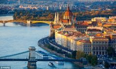 Best value for money: Budapest offers the best value for British tourists wanting to make their money go further. Click on the photo for more info on Daily Mail.