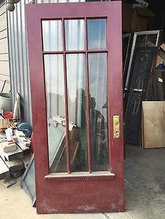Image result for glass exterior door vintage