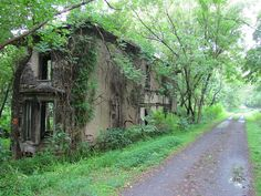 Spooky Abandoned House, New River Trail State Park by Cosmos Mariner, via Flickr